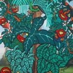 La complainte de la plante verte II (2007, 115 x 203 cm)