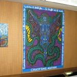 Agathon s'affiche au Centre Fleury Goute d'Or Barbara (septembre 2011)