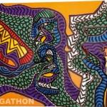 Dragon (2005, 110 x 81 cm)