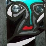 Autoportrait (2004, 30 x 40 cm)